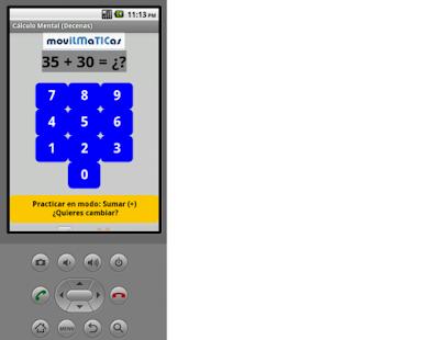 Cálculo Mental (Matemáticas) - screenshot thumbnail