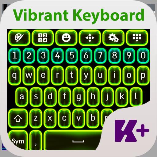 鮮やかなキーボードのテーマ 個人化 App LOGO-APP試玩