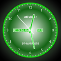 Adi AnalogClock Live Wallpaper icon