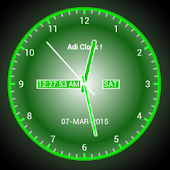 Adi AnalogClock Live Wallpaper