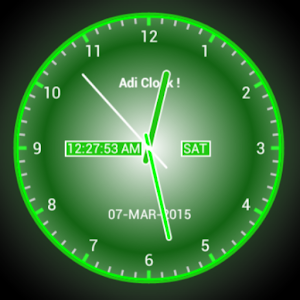 Adi AnalogClock Live Wallpaper  Android Apps on Google Play