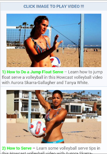 Volleyball Lessons Tricks
