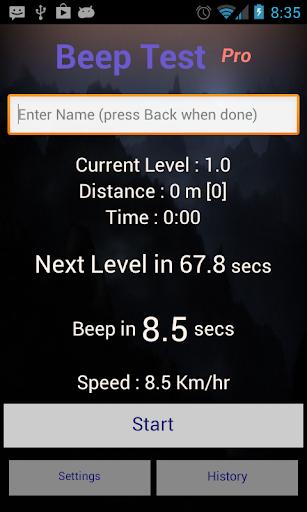 Beep Test Pro