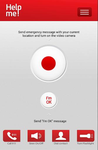 Help me GPS emergency app