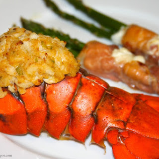 Crab Stuffed Lobster.
