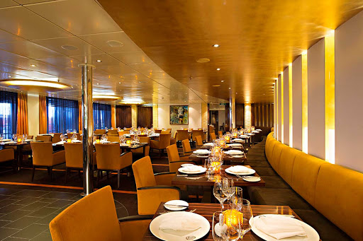 Carnival-Sunshine-Fahrenheit-555-steakhouse - In the mood for steak? Head to Fahrenheit 555 on Carnival Sunshine.