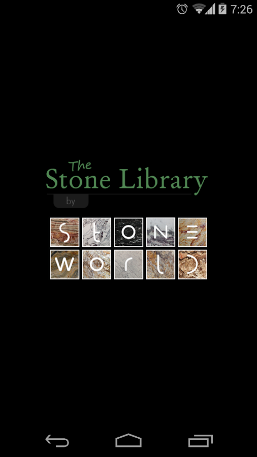 The Stone Library- screenshot