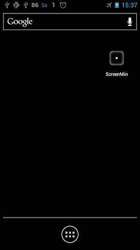 屏幕上的電池最低