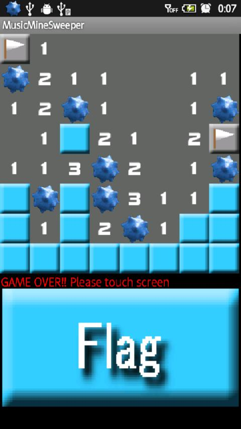 MusicMinesweeper - screenshot