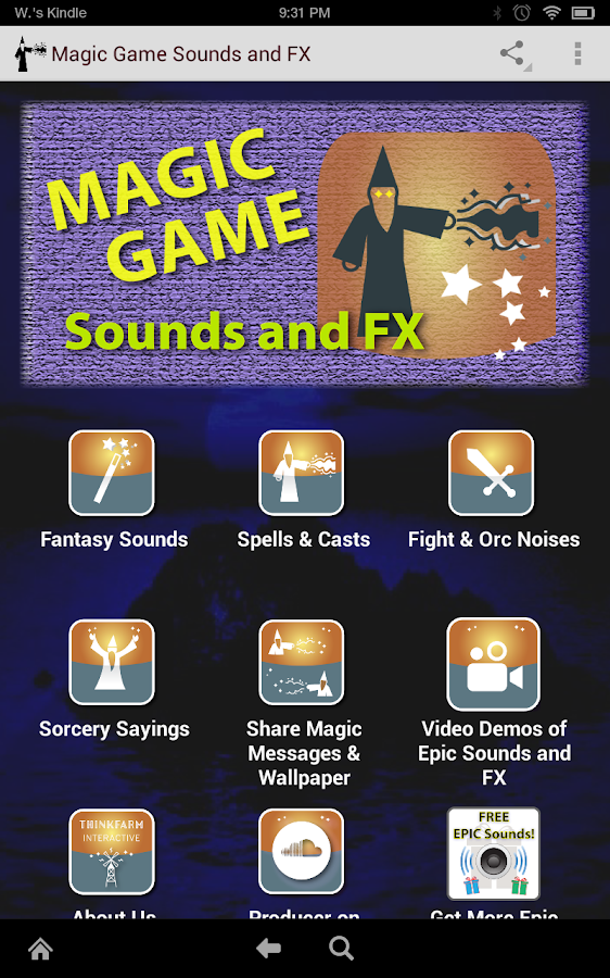 Epic Magic Game Sounds and FX- screenshot