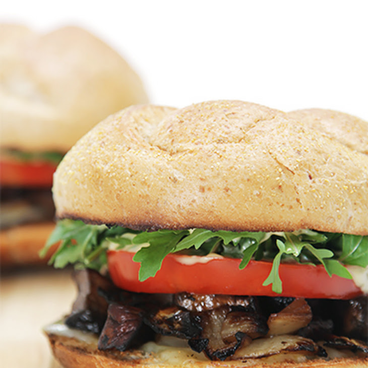 Applewood-Smoked Mushroom Sandwiches with Emmental Recipe