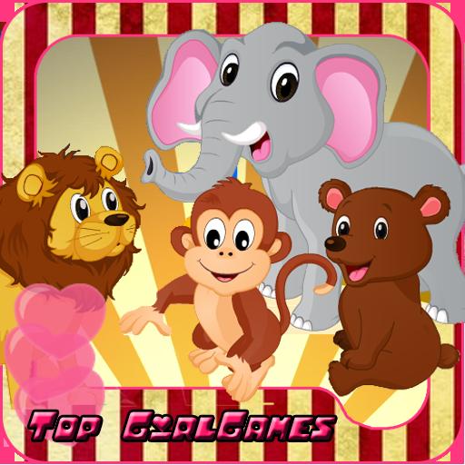 서커스 동물 - 자상 한 게임 休閒 App LOGO-硬是要APP