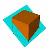 立方体の切り口はどんな図形?