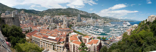 Carnival-Breeze-Monaco-panorama - Spend some time in beautiful Monaco when you cruise the French Riviera.