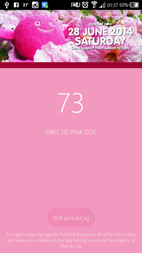 Count to Pink Dot SG 2014