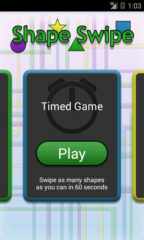 Shape Swipe- screenshot