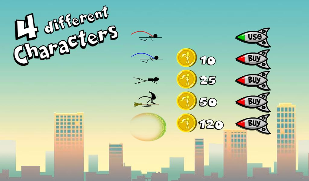 Superhero Stickman - screenshot