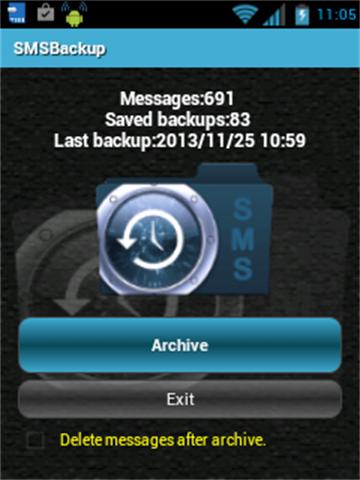 SMS Backup Lite