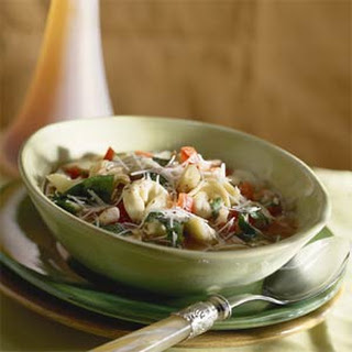 Tortellini, White Bean, and Spinach Soup Recipe