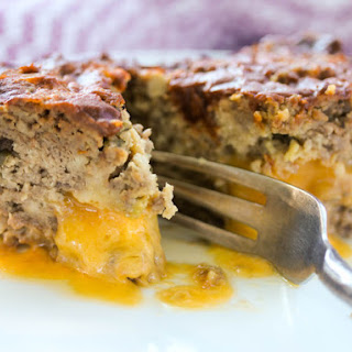 Cheddar-Stuffed Jalapeño Meatloaf with Chili Glaze
