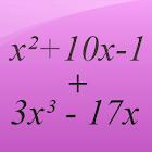 Polynomials Math icon
