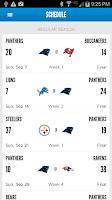 Screenshot of Carolina Panthers Mobile