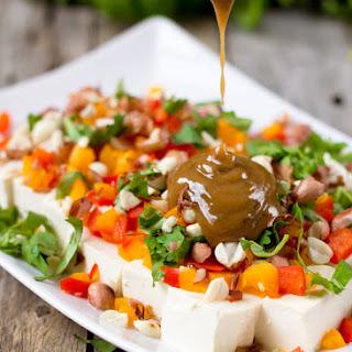 Rainbow Tofu Salad