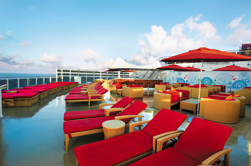 Just when you thought you'd seen it all, along comes the Posh Beach Club, Norwegian Epic's one-of-a-kind beach club at sea.