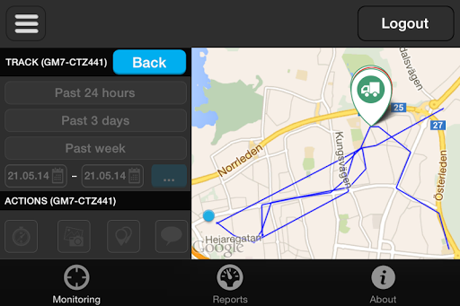 Tracktor - GPS Tracking System