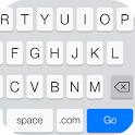 Emoji Keyboard-Emoticons,White icon