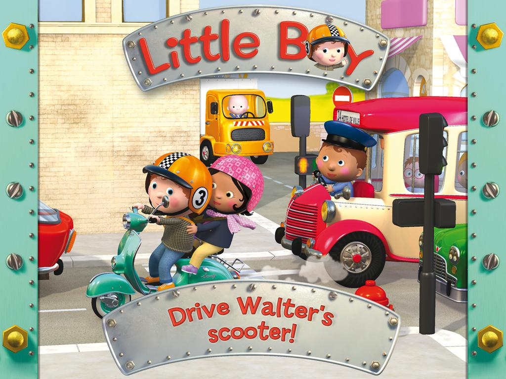 Walter's scooter - Little Boy - screenshot