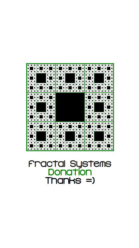 Fractal Systems Donation - screenshot