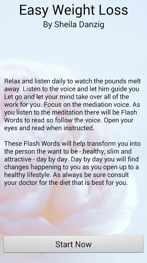 daily meditations for weight loss