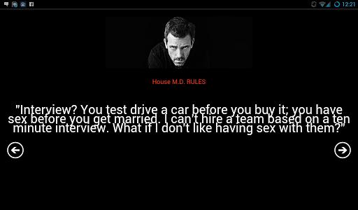 Правила жизни Доктора Хауса