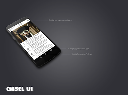 Chisel UI - Zooper skin