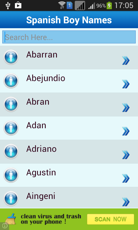 Spanish Baby Names & Meaning - Android Apps on Google Play