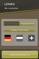 Screenshot of Dienstgradabzeichen