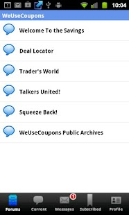 WeUseCoupons Coupon Forum - screenshot thumbnail