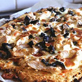 Cauliflower Crust Healthy Pizza