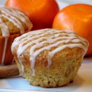 Carrot Cake Muffins with Cinnamon Glaze