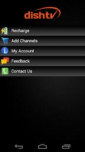 My Account-DishTV- screenshot thumbnail