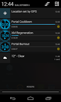 Screenshot of Integrated Timer  For Ingress