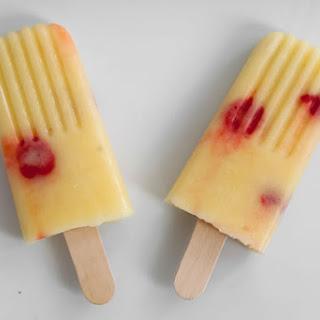 Pina Colada Popsicles