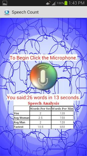 【免費娛樂App】Speech Count-APP點子
