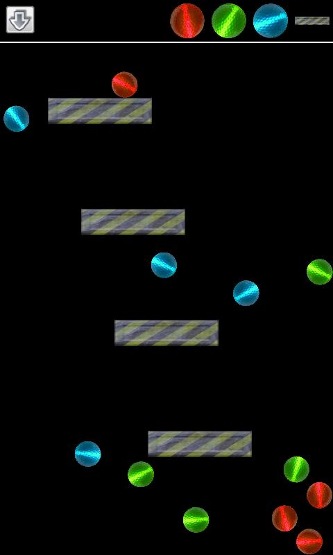 2D Ballz Physics Toy - screenshot