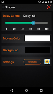 Moving Dot Live Wallpaper screenshot
