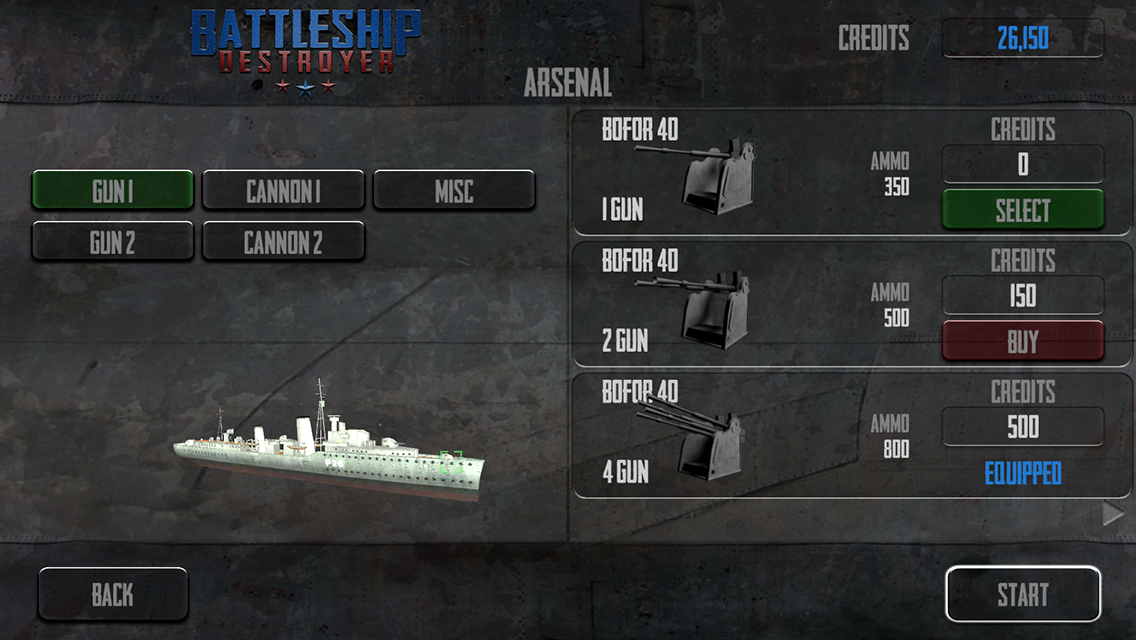 Battleship Destroyer - screenshot