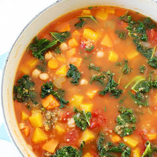 Fall Vegetable Quinoa Soup.