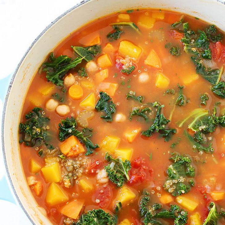 Fall Vegetable Quinoa Soup Recipe