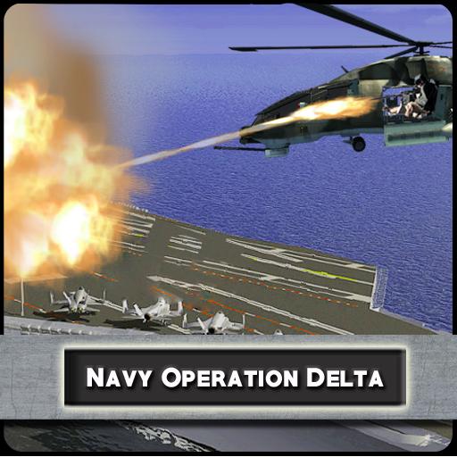动作の海軍オペレーションデルタ LOGO-記事Game